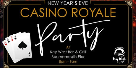 New Year's Eve Casino Royale Party tickets