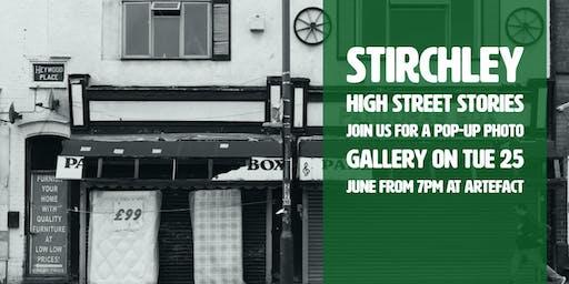 Stirchley High Street Stories