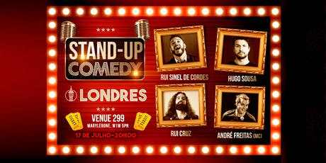Stand Up Comedy in Portuguese tickets