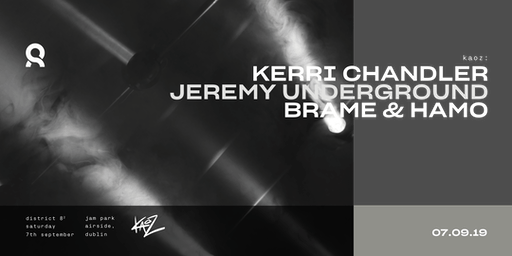 Opening Night: Kerri Chandler, Jeremy Underground and Brame & Hamo