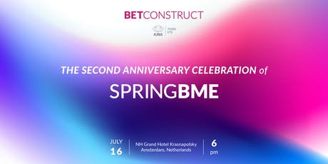 SpringBME: 2nd anniversary tickets