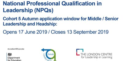 Register Your Interest in the National Professional Qualification in Leadership Cohort