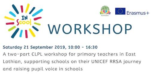 InScool project CLPL workshop: East Lothian primary teachers