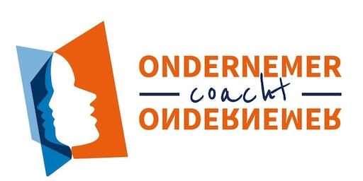 Bijeenkomst voor de coaches van Ondernemer coacht Ondernemer