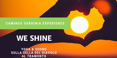 We Shine! Yoga e suono sulla Sella del Diavolo al tramonto.