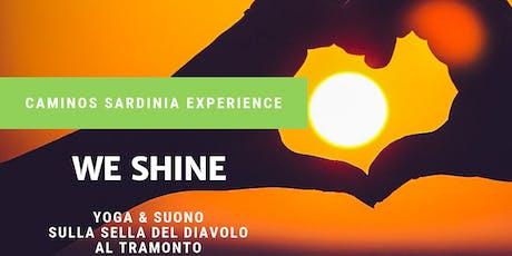 We Shine! Yoga e suono sulla Sella del Diavolo al tramonto. tickets