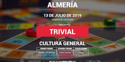 Trivial Cultura General en Pause&Play Torrecárdenas