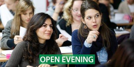 CNM Belfast - Free Open Evening tickets