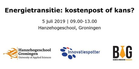Energietransitie: kostenpost of kans? tickets