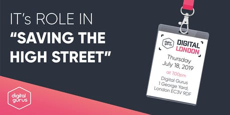 "IT's Role in ""Saving The High Street"" - IT Leadership Event tickets"