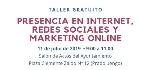 Presencia en Internet, Redes Sociales y Marketing Online (Pradoluengo) entradas