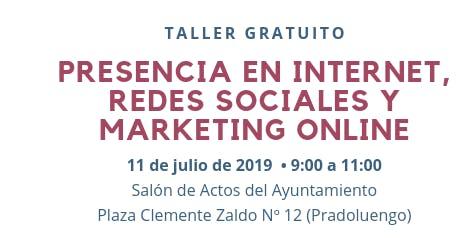 Presencia en Internet, Redes Sociales y Marketing Online (Pradoluengo)