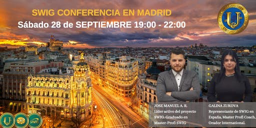 Te invitamos a nuestro evento de SWIG y STO CRYPTOUNIT en MADRID