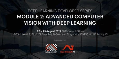 Advanced Computer Vision with Deep Learning (22 - 23 Aug 2019) tickets