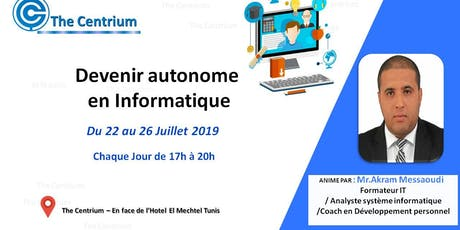 Formation : Devenir Autonome en Informatique billets