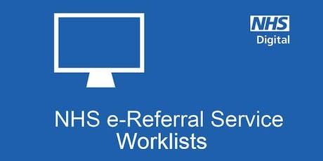 eRS Worklists Workshop WS250719B tickets