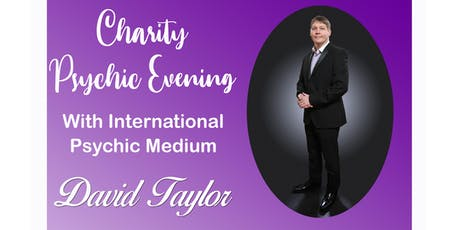 An Evening of Clairvoyance with David Taylor tickets