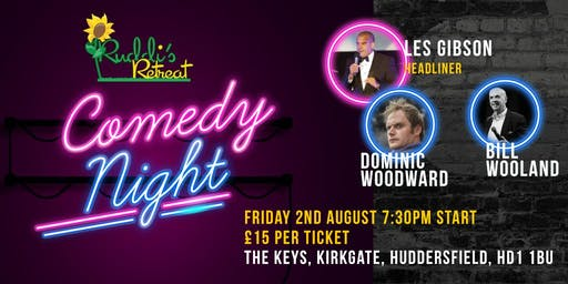 Ruddis Retreat Charity Comedy Night