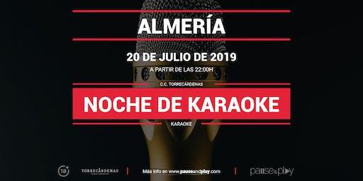 Noche de Karaoke en Pause&Play Torrecárdenas