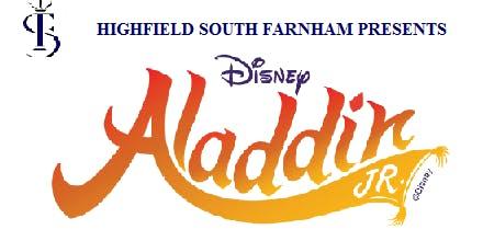 Highfield South Farnham Summer Show 2019 - Aladdin - 12TH JULY 2019