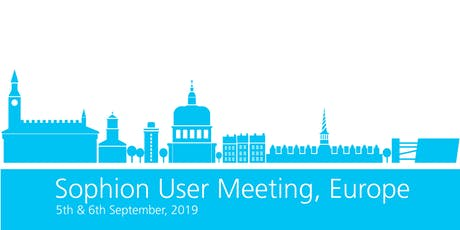 Sophion User Meeting 2019 - Europe tickets