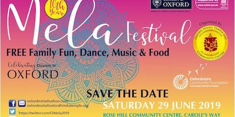 Oxford Mela 2019 tickets