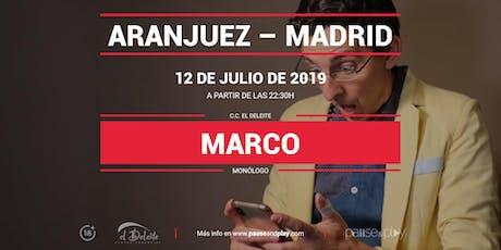 Monólogo Marco en Pause&Play El Deleite entradas