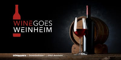 Wine goes Weinheim - Weintasting 16.05.2020