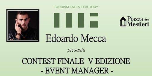 Edoardo Mecca - Contest finale Event Manager 2019