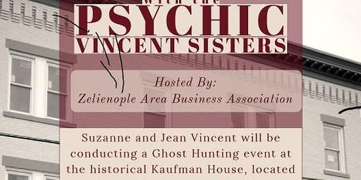 Ghost Hunting at Kaufman House with Psychic Vincent Sisters