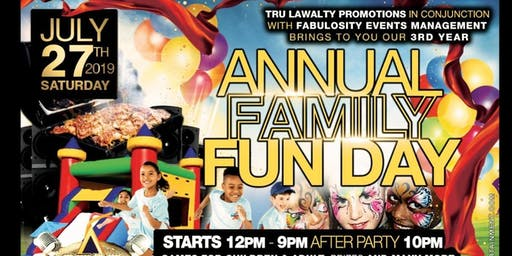 Family Fun Day, Artistshowcase and Afterparty