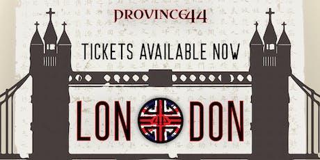 PRO44 | LONDON | 31.08.19 tickets