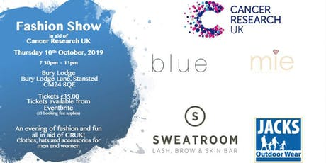 Fashion Show in aid of Cancer Research UK tickets