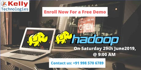 Get Success in Career by Attending Free Demo on Hadoop Training by Experts tickets