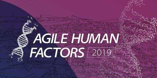 Agile Human Factors 2019