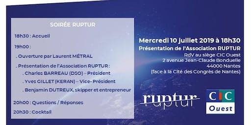 RUPTUR se dévoile au CIC à Nantes
