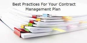 Best Practice - Contract Management - 3 CE & 25 Hour...