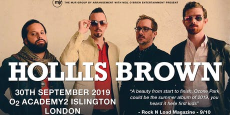 Hollis Brown (Islington Academy 2, London) tickets