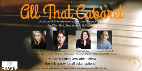 All That Cabaret! tickets