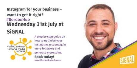 Instagram for your business – want to get it right?  tickets