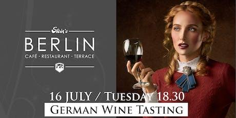 German WINE TASTING at Stein's Berlin in Kensington tickets