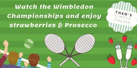 Wimbledon at Theo's Simple Italian  tickets