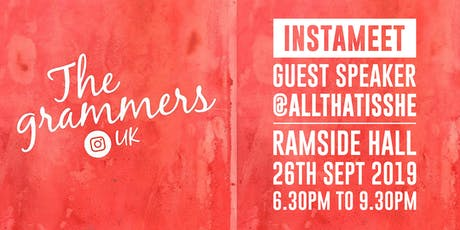 Instameet with guest speaker @allthatisshe tickets