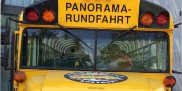 Stadtrundfahrt im Schulbus