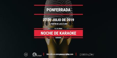 Noche de Karaoke en Pause&Play El Rosal entradas