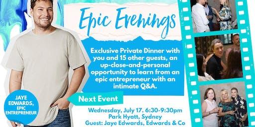 Epic Evenings with Amanda Stevens & Jaye Edwards Sydney, NSW