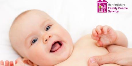 Baby Massage - De Havilland Family Centre - 09.09.19 - 07.10.19  1.30 - 3pm tickets