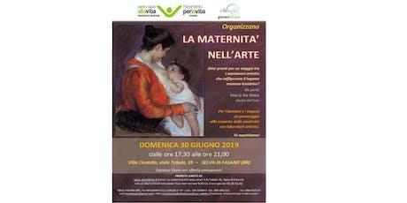 La maternità nell'arte biglietti