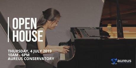 Aureus Conservatory Open House tickets