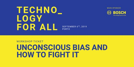 Workshop @ Connect Fest - Unconscious Bias and how to fight it by PWIT